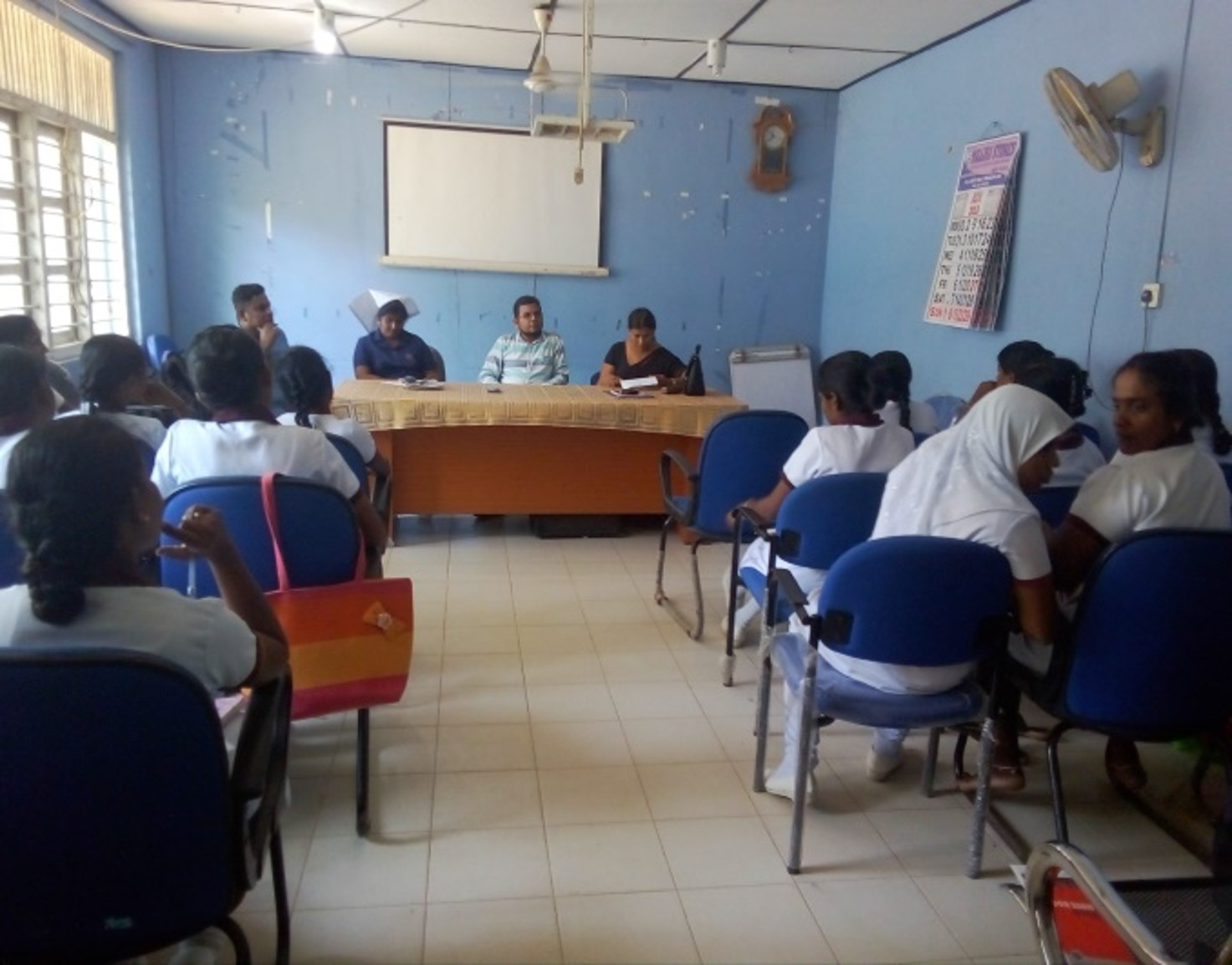 Follow up Meeting for health Workers
