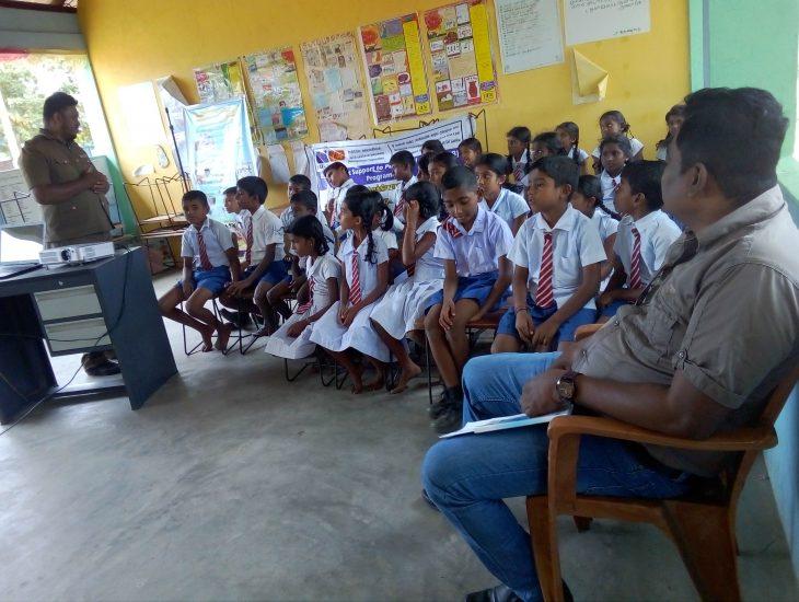 Hygiene Promotion training at Primary School (Srimuruugan & Santhosapuram)