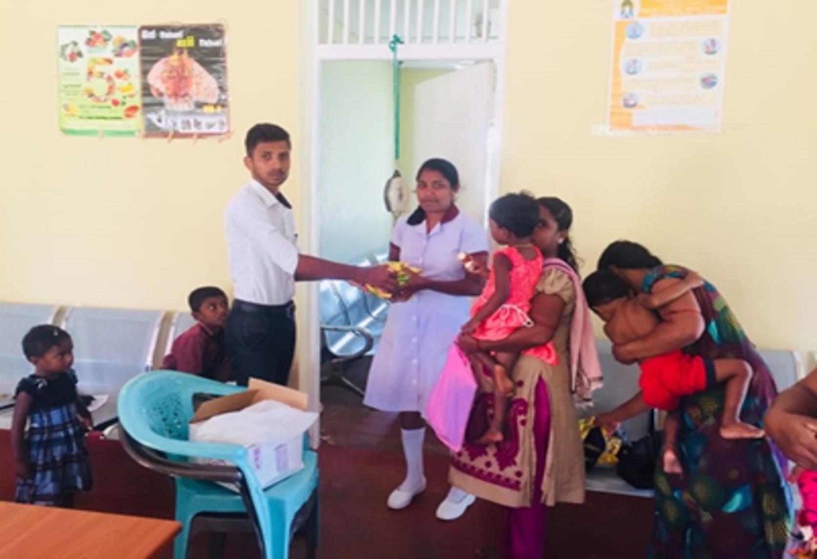 Subposha Distribution for SAM Children