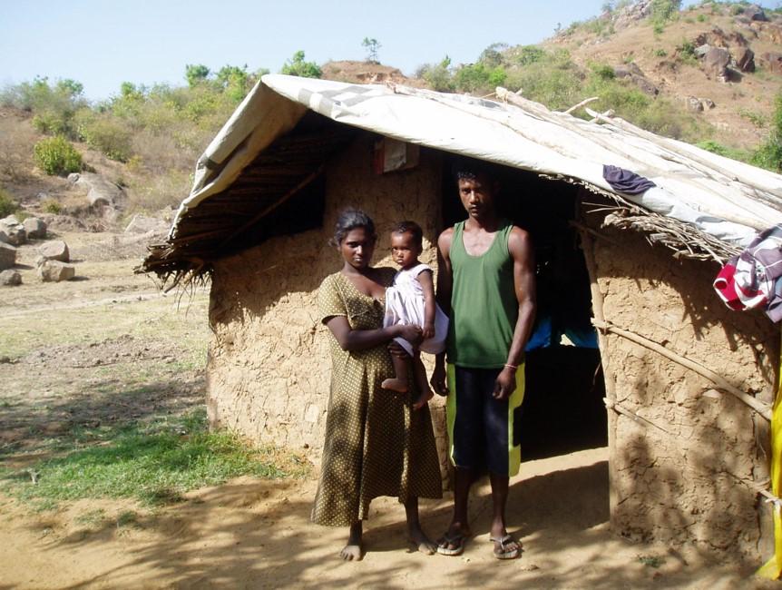 One of the Beneficiary (Jayaratne family)