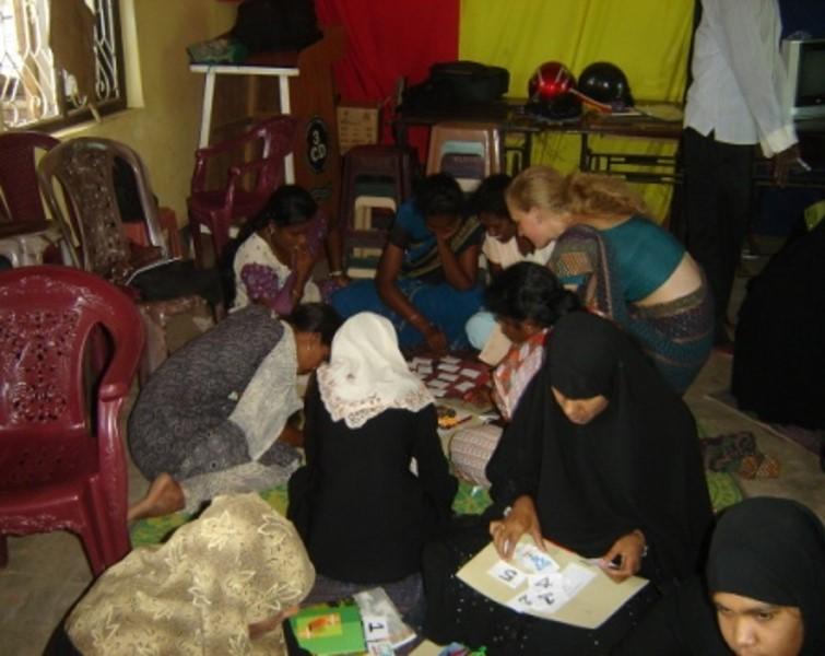 Sandra – Sarah-Swedish Volunteers with Teachers