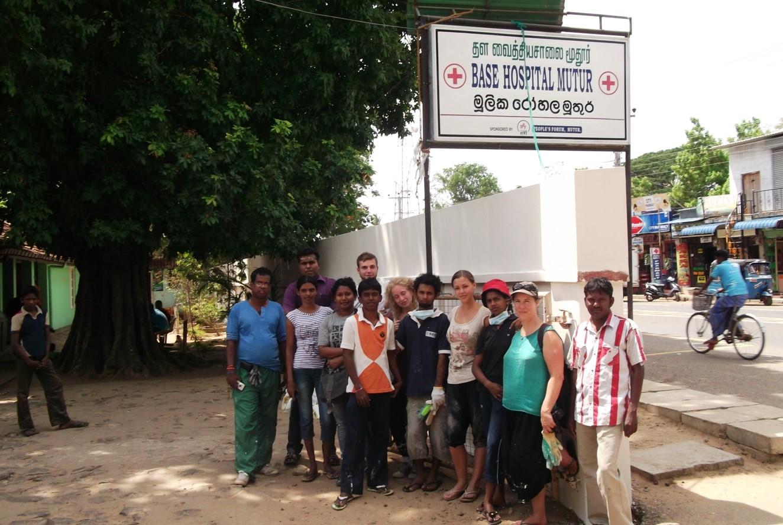 WorkCamp in Base Hospital – Mutur July 2012